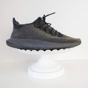 Adidas Grey Black Tubular Sneaker Men's 8